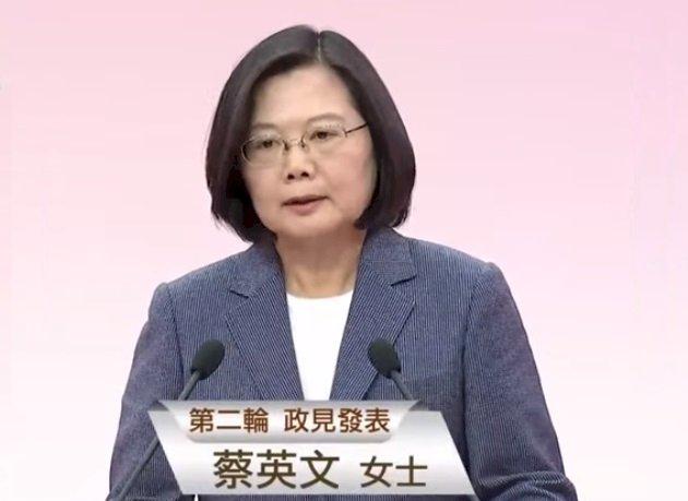 批韓國瑜能源政策 蔡總統:續用核電是「用命發電」