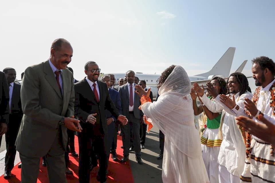獲和平獎後 衣索比亞總理首度會晤厄利垂亞總統