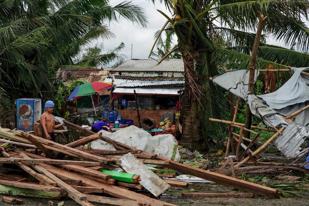 颱風巴逢肆虐菲國中部 官員:至少16人死亡