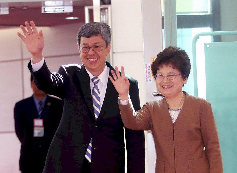 陳副總統出訪帛琉 強調邦誼穩固