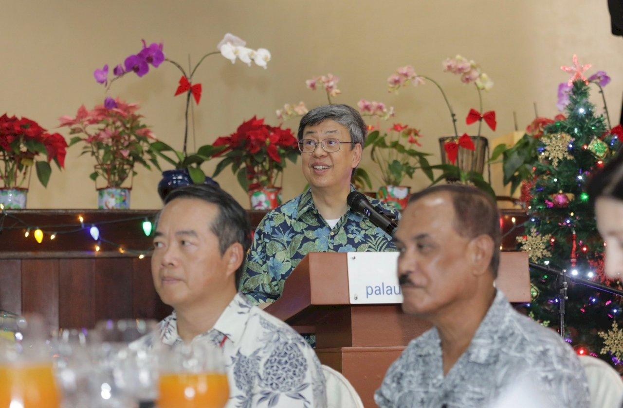 建交20週年  陳副總統感謝帛琉在國際為台灣發聲