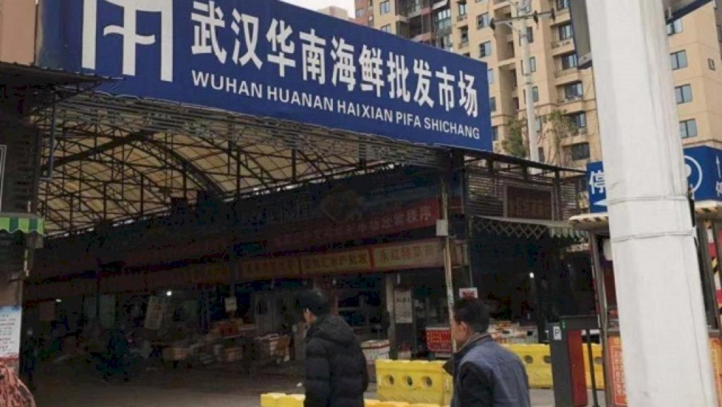 武漢市場爆不明肺炎 口罩全搶光