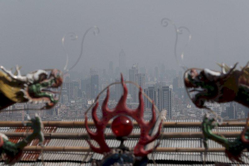 中國霾害明起影響台灣 全台空氣品質差