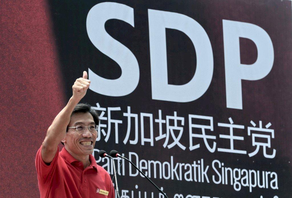 對抗最嚴厲假新聞法 新加坡反對黨訴諸法律