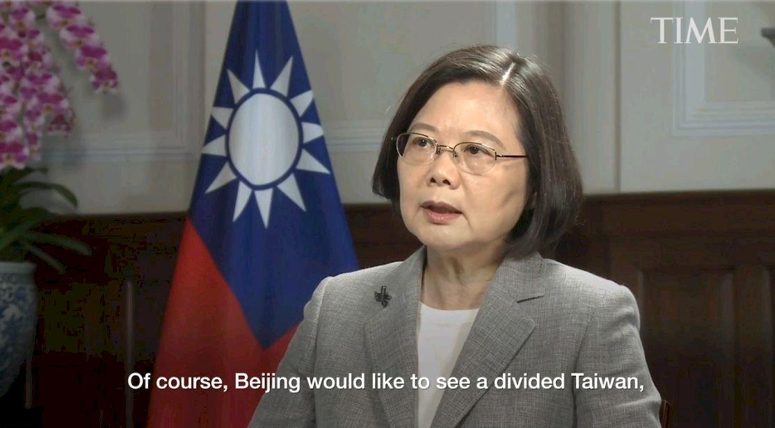時代雜誌專訪 蔡總統:台灣人民需要堅定領導者