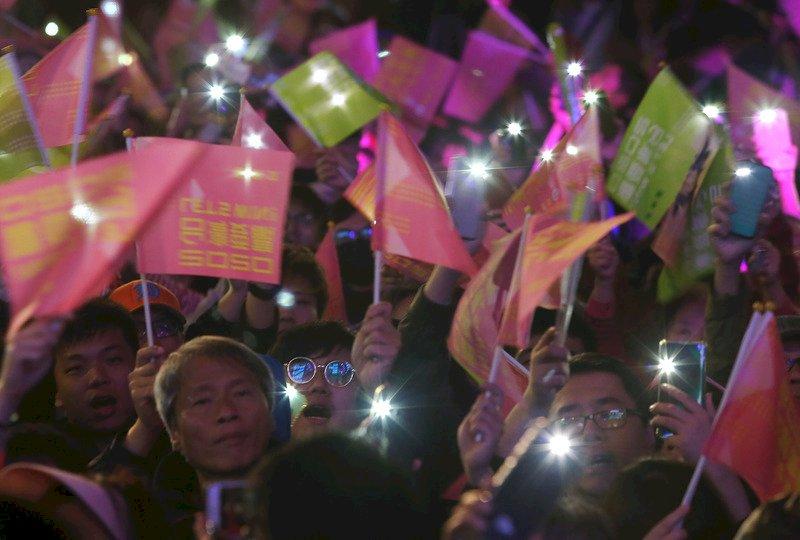蔡總統連任 美媒:北京干預野心最大打擊