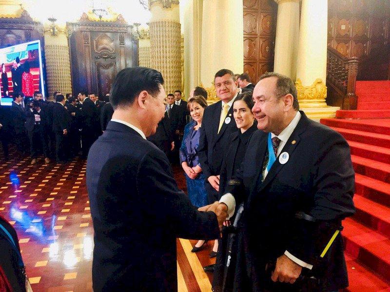 外長出席瓜國總統就職 外交部:提升國際能見度
