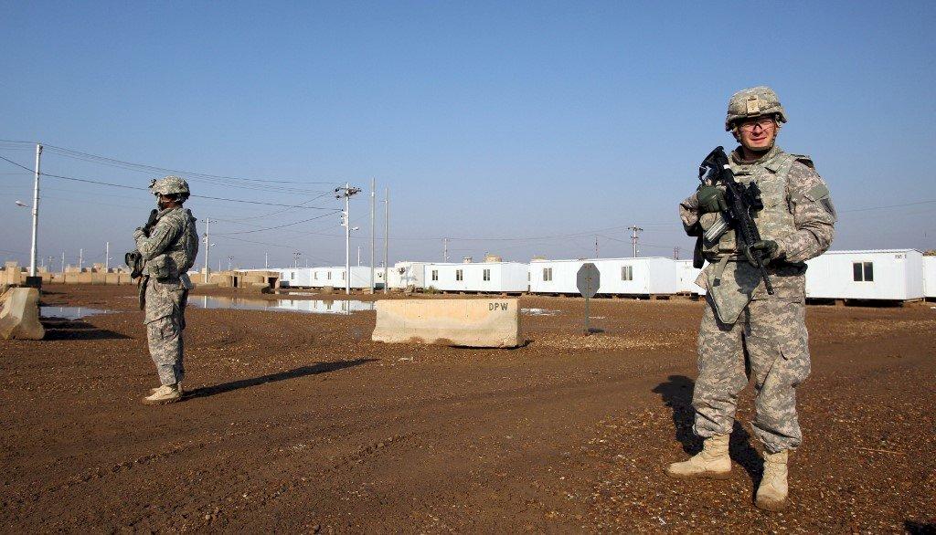 美國為首聯軍 撤離伊拉克塔吉基地