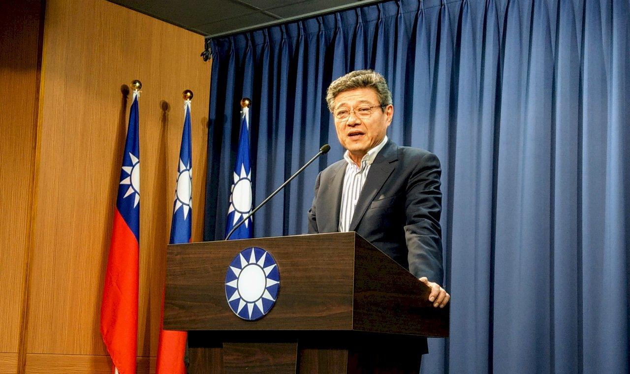 吳敦義鞠躬致歉請辭 林榮德代理主席、曾銘宗代理秘書長