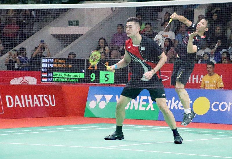 台灣羽球男雙會師西班牙大師賽四強 預約一席決賽門票