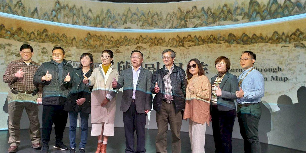 台博館鎮館之寶「康熙臺灣輿圖」動起來 重回18世紀