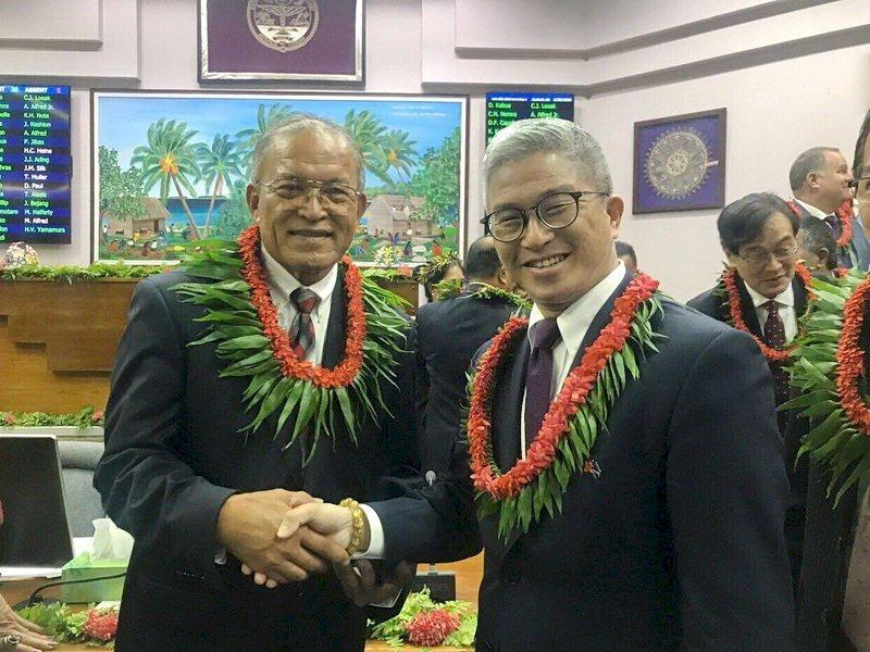 馬紹爾新總統就職 外交部:邦誼堅定