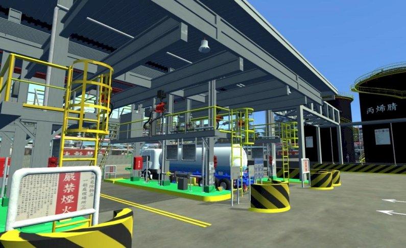 勞動部利用VR新科技 助企業教育訓練預防化學危害