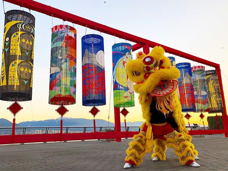 台灣燈會 加拿大海岸新年燈籠跨海慶元宵