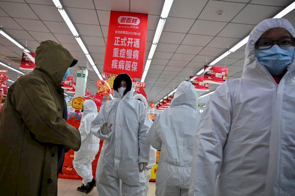 中國武漢肺炎最新公告:80死、2744人確診