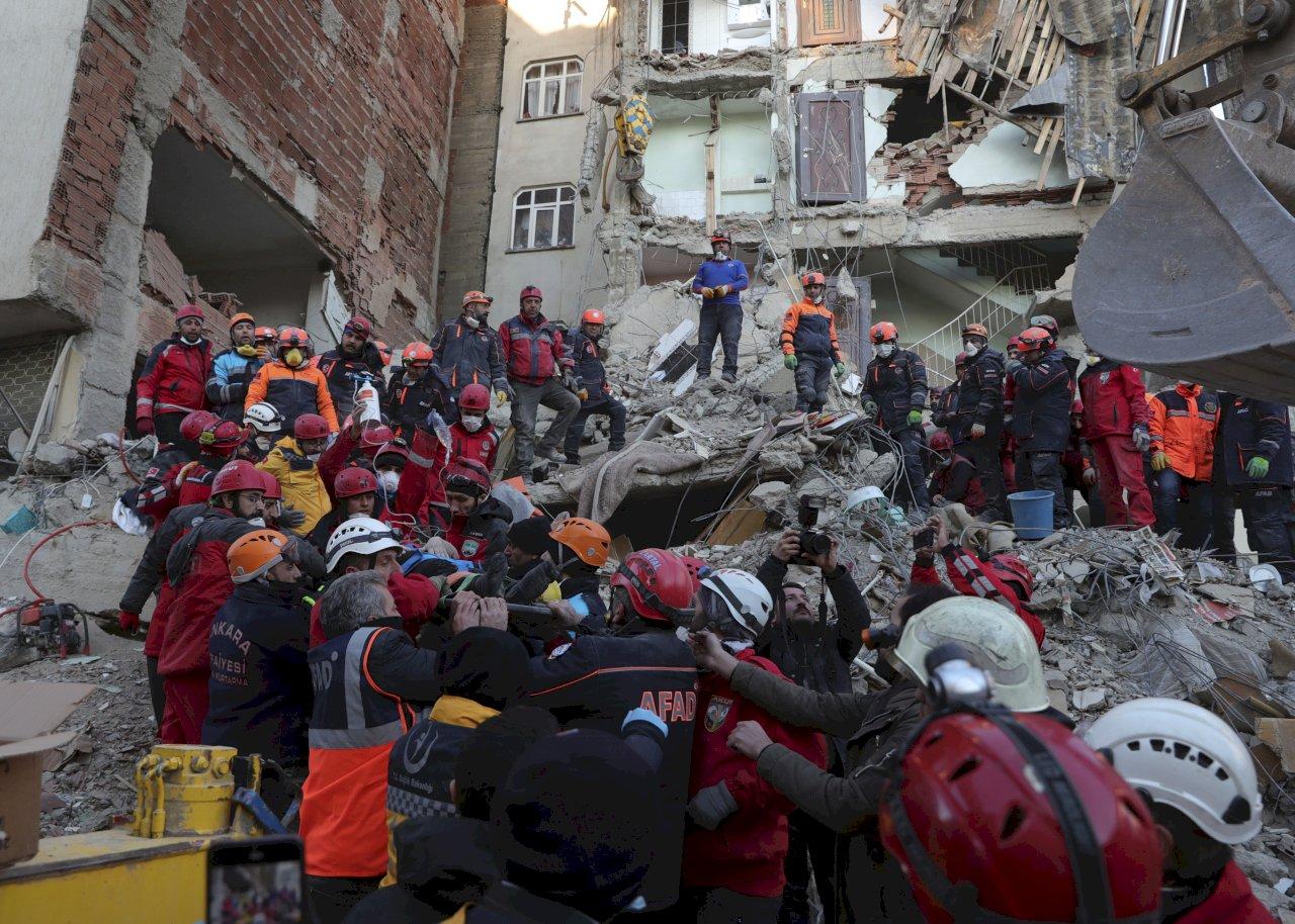 感念921馳援 台灣民眾為強震後土耳其祈福