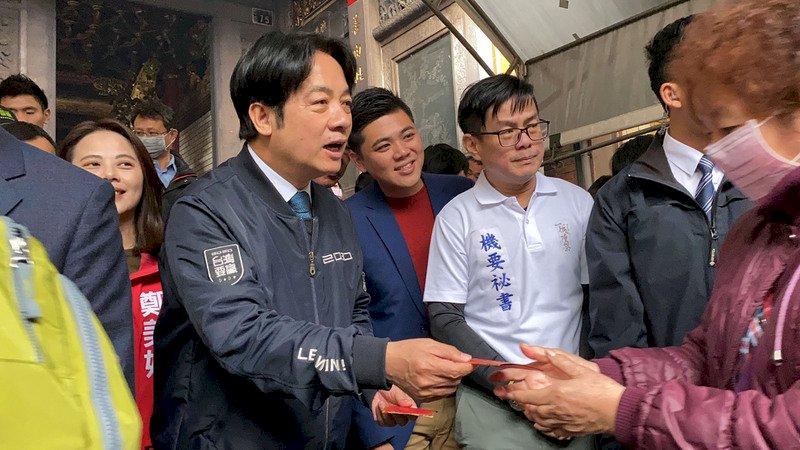 賴清德籲中國應支持台灣加入世衛 共同對抗疫情