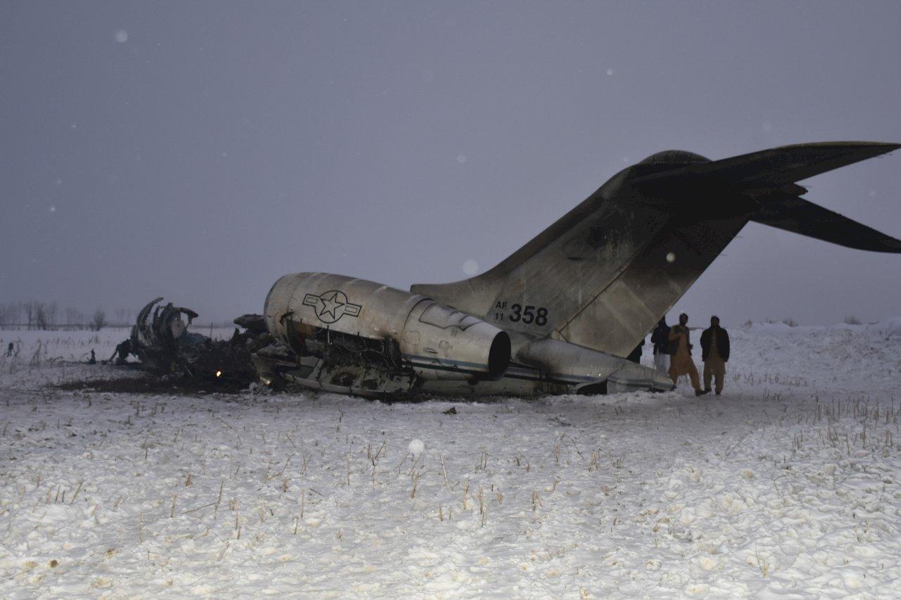 美稱小型軍機墜毀阿富汗 尚無遭敵方擊落跡象