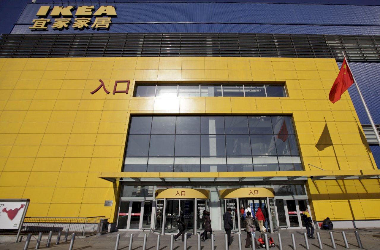 武漢肺炎蔓延 半數IKEA中國分店暫停營業
