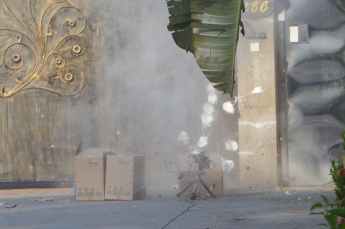中駐馬來西亞領事館收可疑紙箱 引爆後竟是口罩