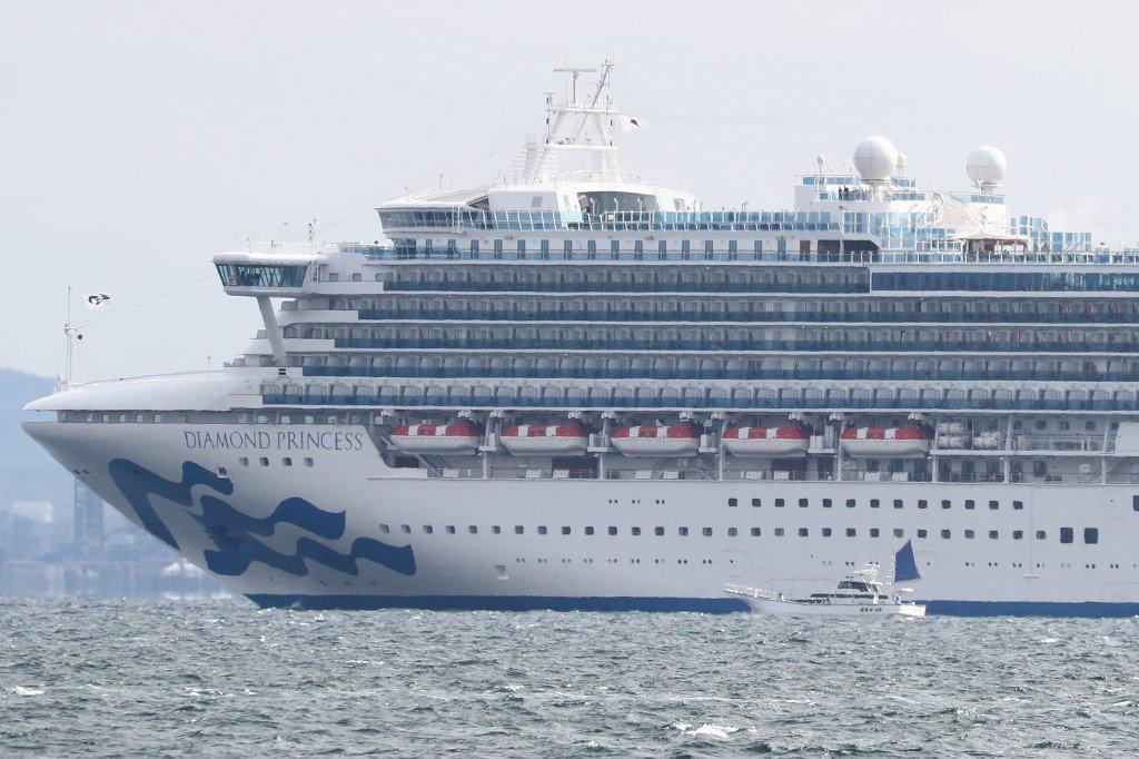 逾3,700人隔離檢疫 鑽石公主號延後駛離橫濱