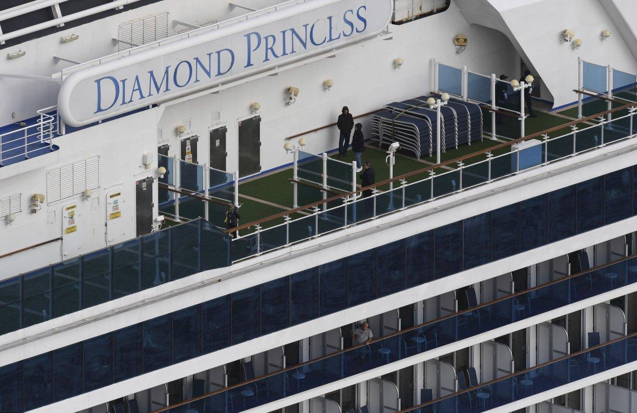 日宣布:鑽石公主號乘客檢測陰性者19日起可下船