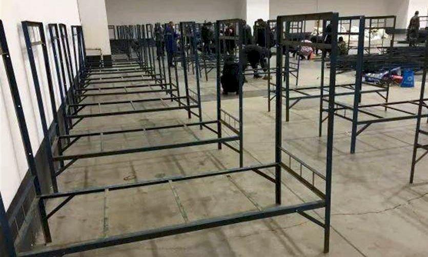 分流病患 武漢連夜徵收3場館改建方艙醫院