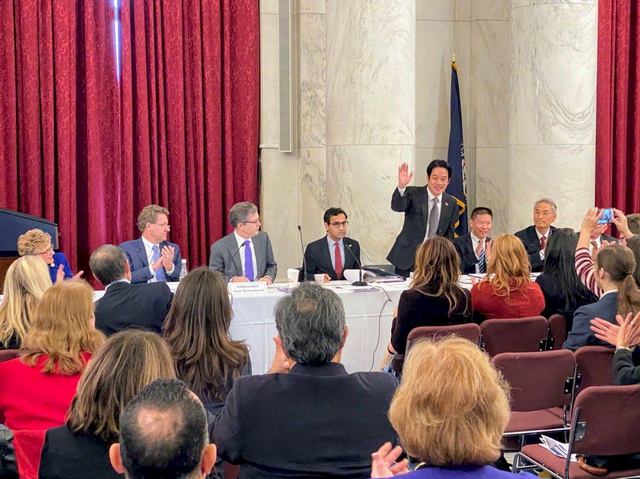 訪美出席國際宗教自由圓桌 賴清德:台灣將與國際合作實現共同目標