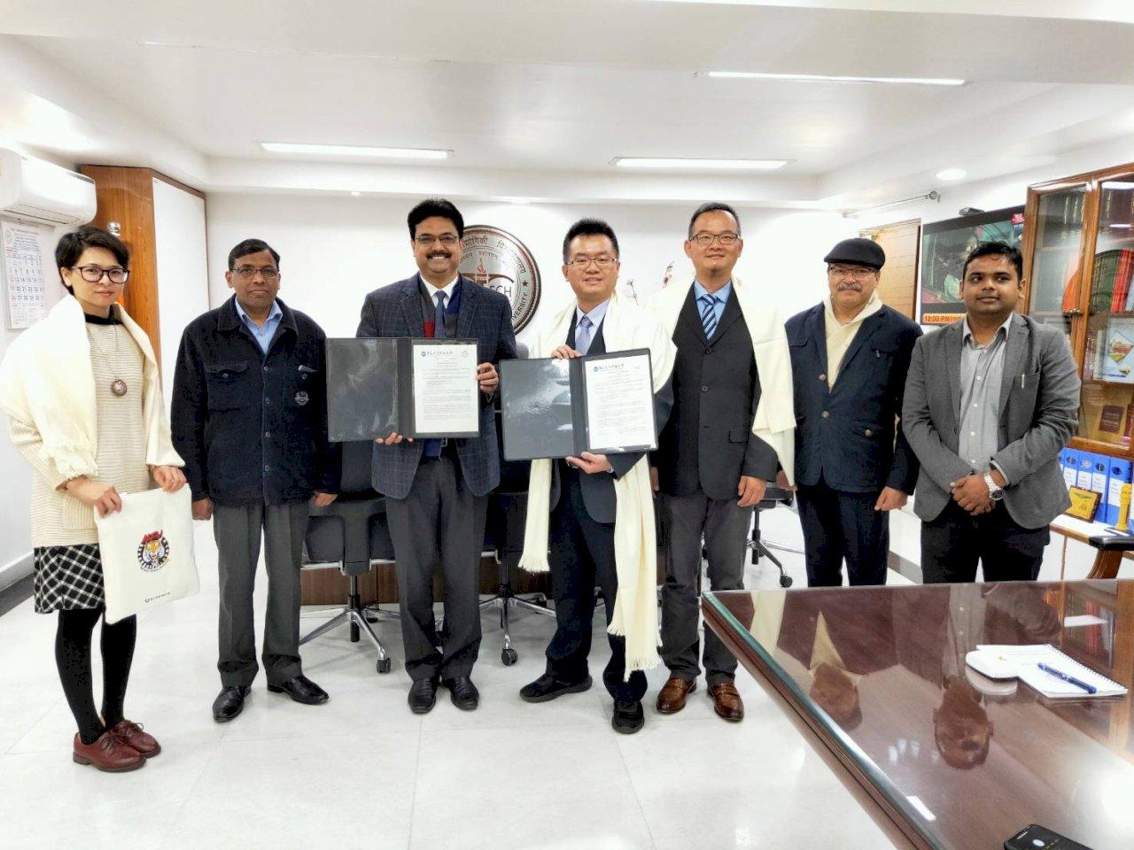虎尾科大與印度6校合作 促進學者交換計畫