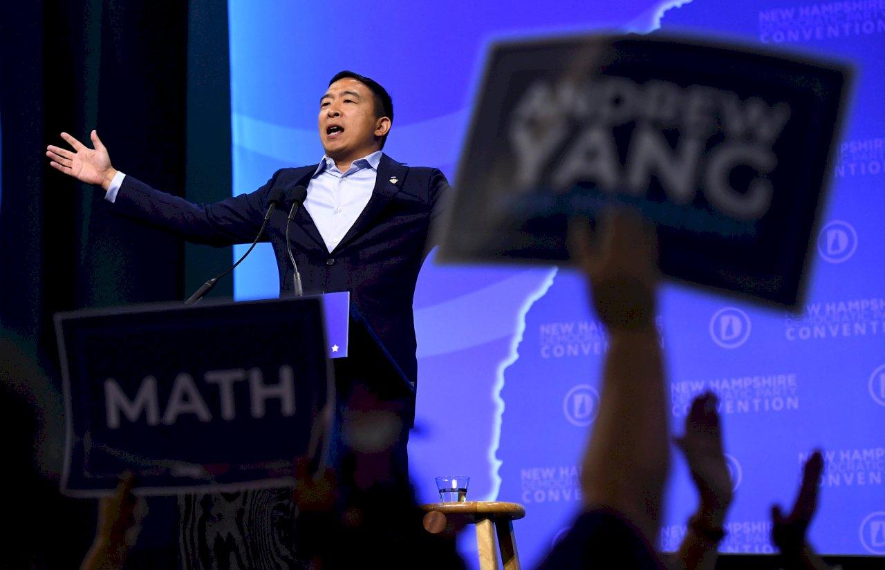 「從數字來看不可能贏」2020美國總統亞裔候選人楊安澤退選後的下一步?