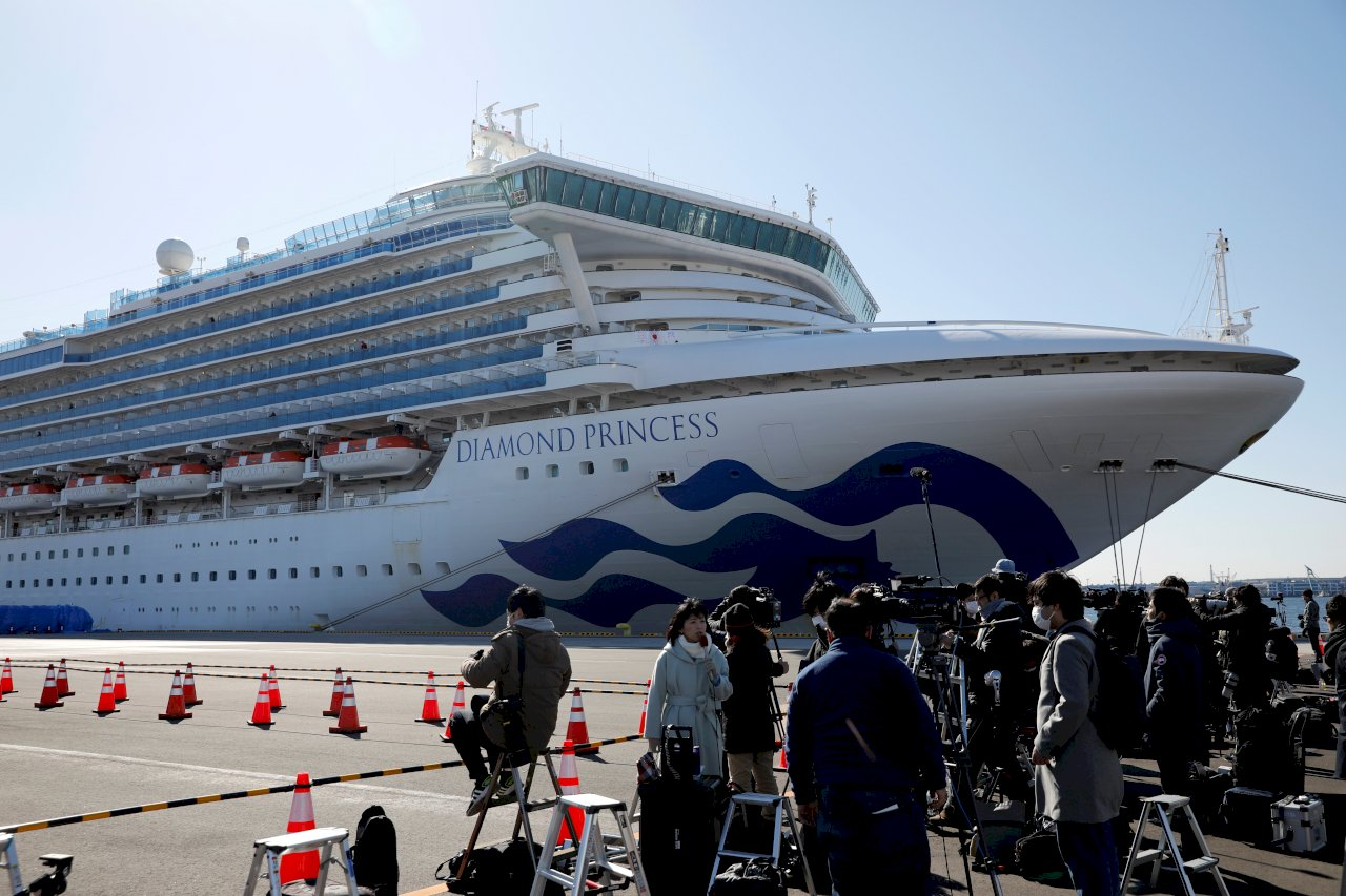 南韓:將派員接回鑽石公主號本國公民