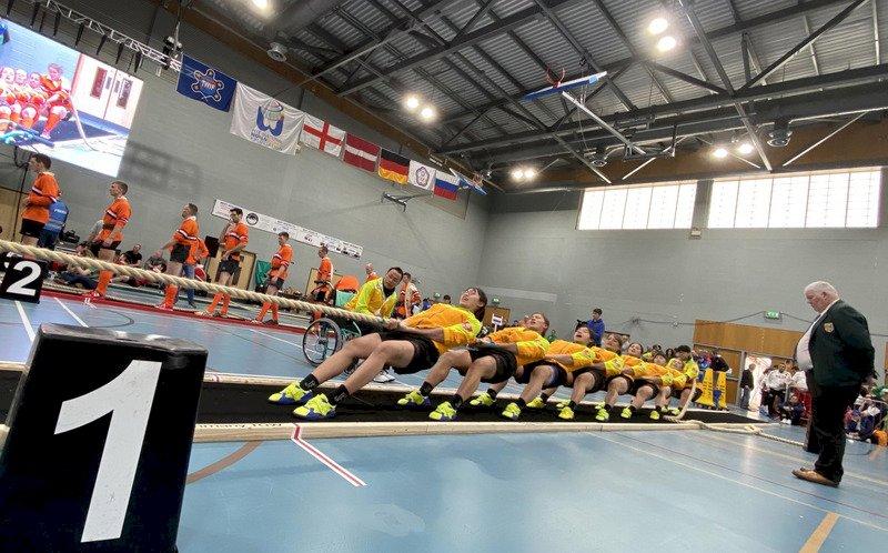 世界盃拔河錦標賽 中華隊奪5金1銀