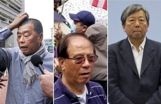 黎智英等泛民派被捕與中共駐港新人事