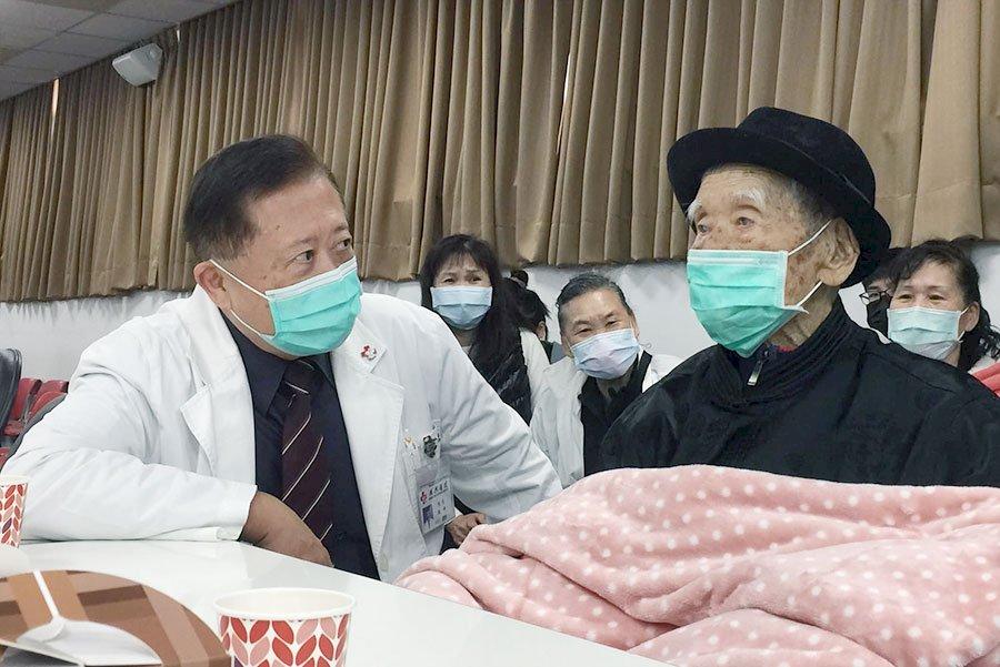 最高齡百瑞翁完成經導管瓣膜手術 台灣寫下世界醫療紀錄
