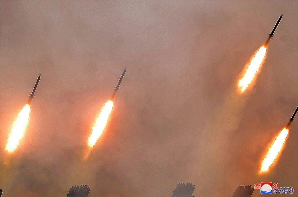 北韓又射彈 朝東海發射多枚短程巡弋飛彈