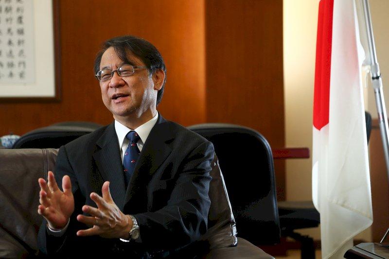 防疫時刻 日本駐台代表:感謝台灣對老鄰居的關懷
