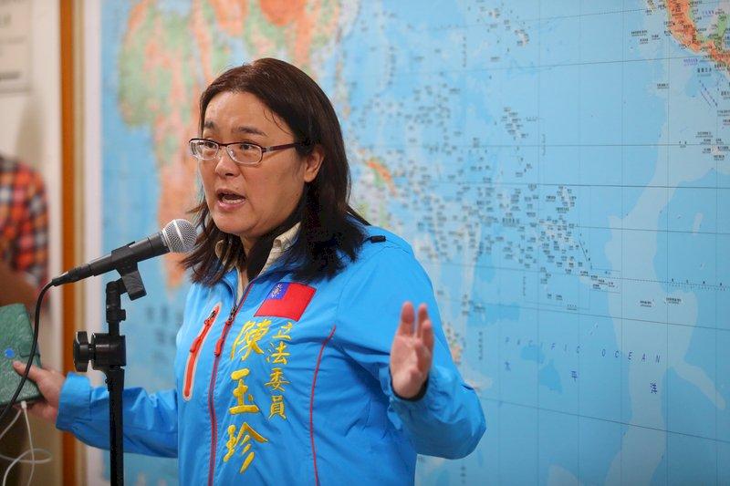 蘇貞昌指陳玉珍沒資格當立委 國民黨團促道歉
