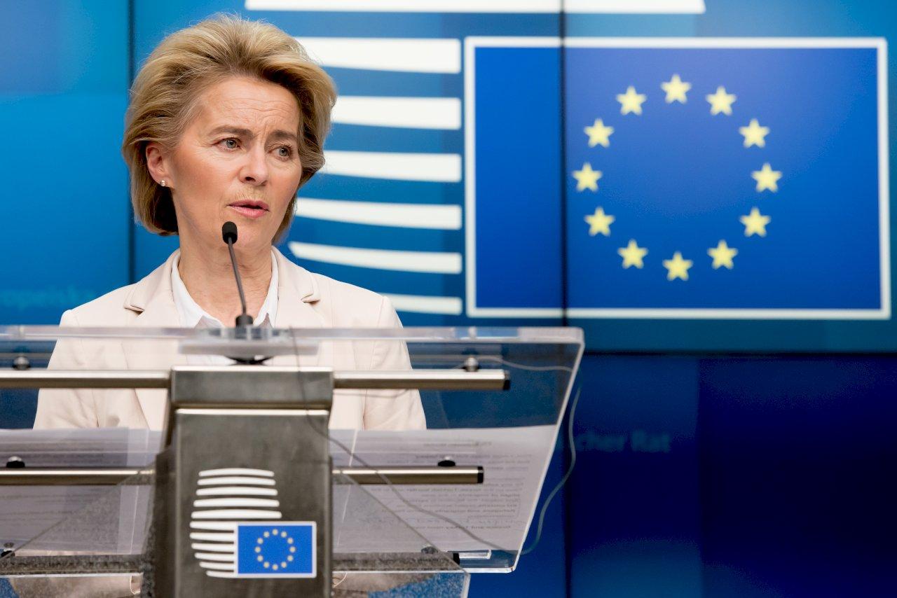 范德賴恩將發表盟情咨文 聚焦綠色協議重振經濟