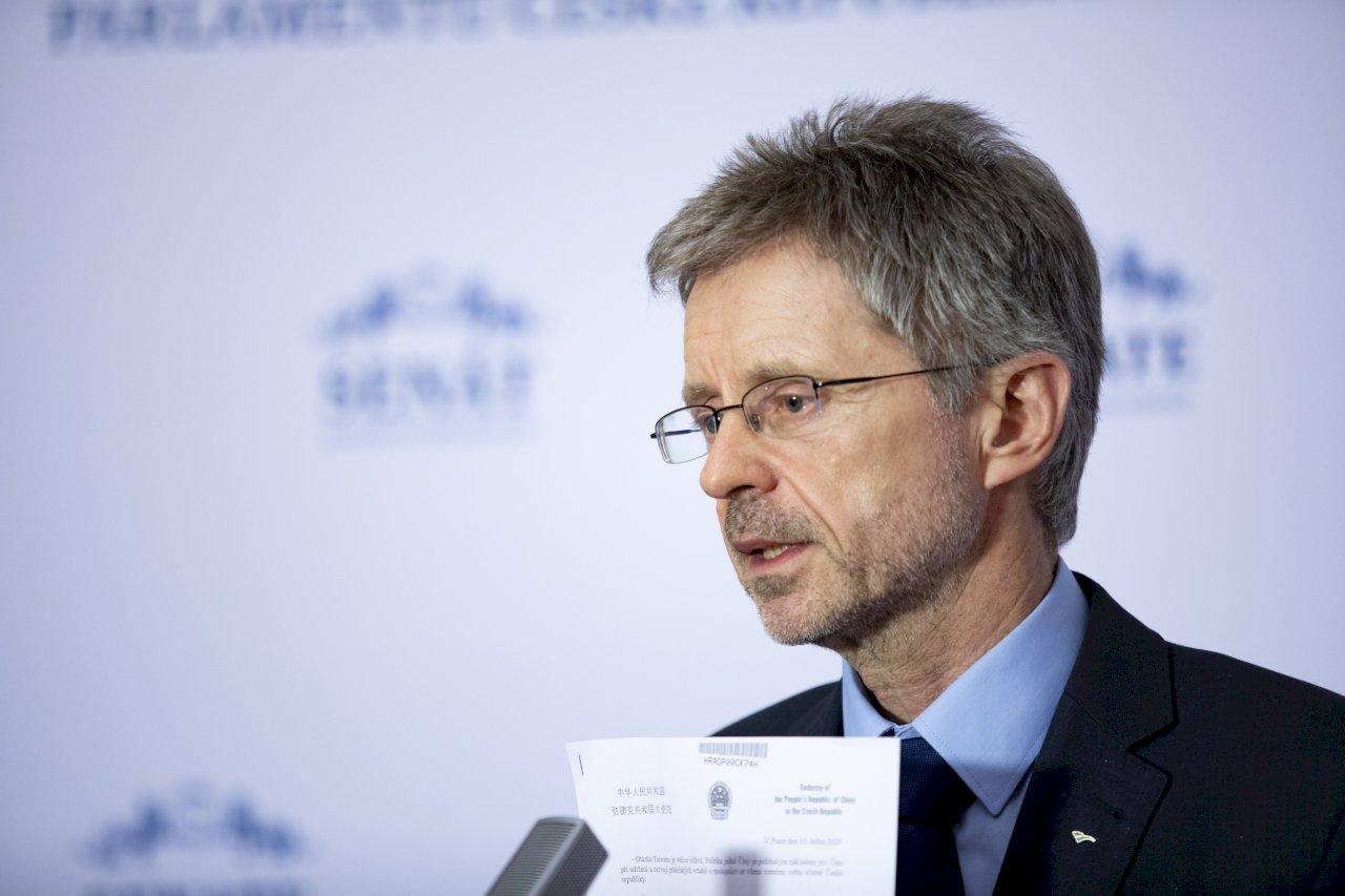 捷克參院議長擬出訪台灣 拒絕中國威脅