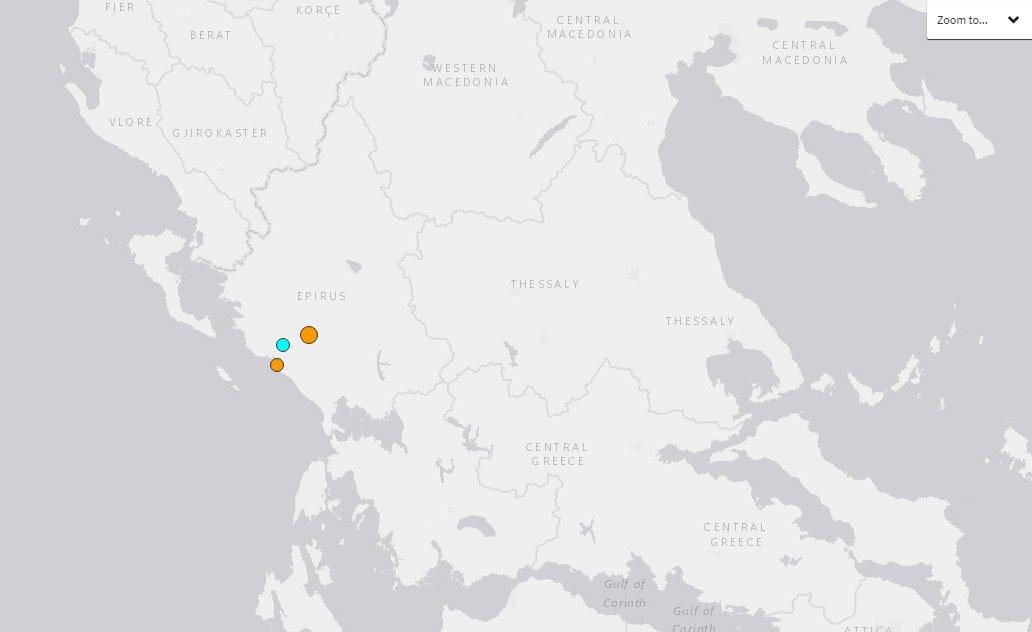 希臘西北部5.6地震 建築受損幸無傷亡