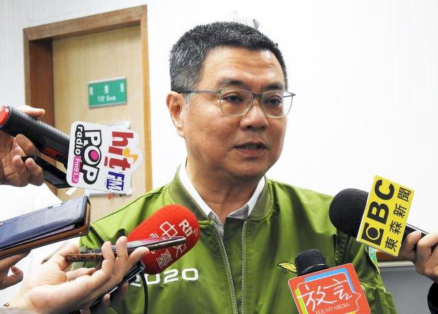 蔡正元諷民進黨新海角七億 卓榮泰:肺炎不該影響眼睛