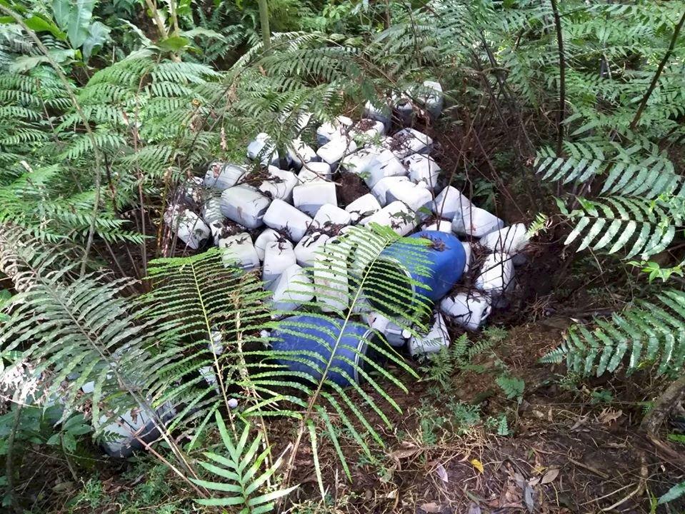 廢液桶遭棄水庫集水區  運用科技溯源成功緝凶