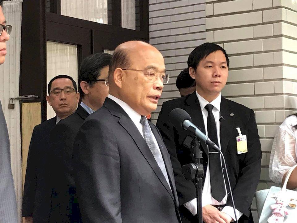 蘇揆下重話 警署調整高雄、台南警察局長職務