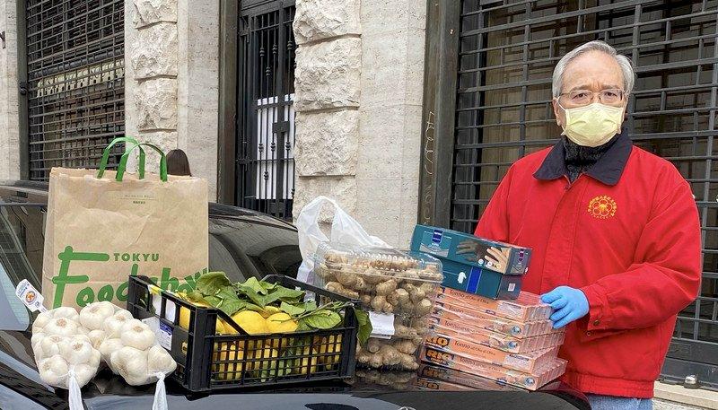 旅台義籍神父家鄉告急 駐教廷大使快遞物資