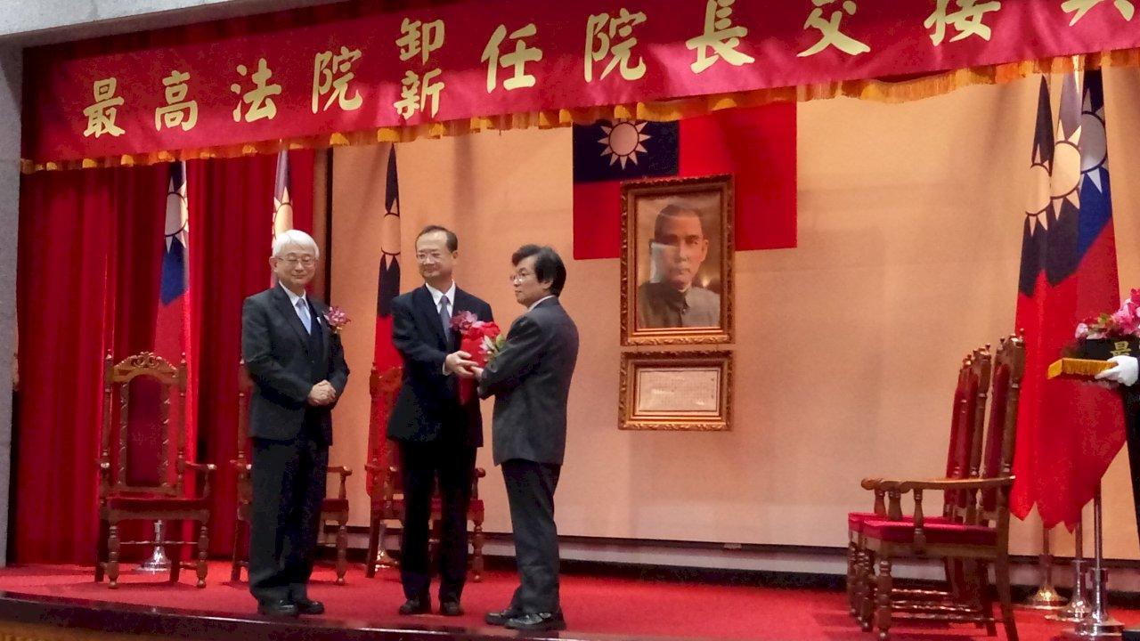 首位最高法院庭長直升院長 吳燦:非常惶恐