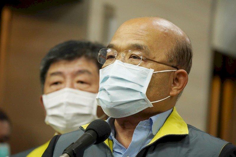 回擊國台辦「台灣示警是假議題」 蘇揆:你相信中國代表說的話嗎?