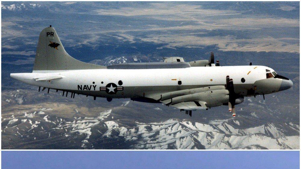 美軍電偵機現蹤台灣南部海域 4月來第11度