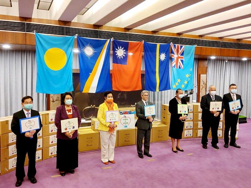 捐贈亞太友邦8萬片口罩 外交部:續提供必要援助