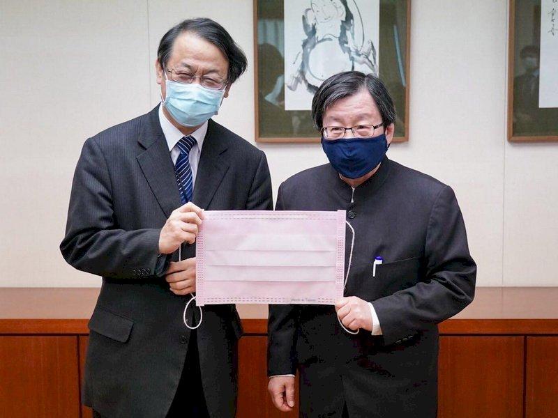 貫徹台灣正在幫忙決心 我贈日本200萬片口罩