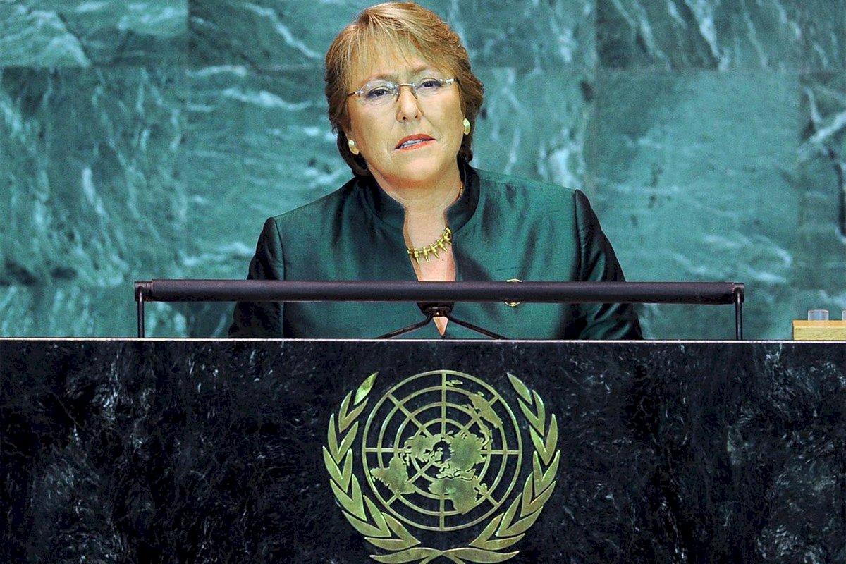 聯合國人權專員 關切香港與新疆